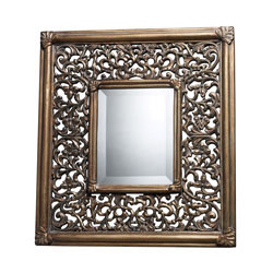 Collingswood Mirror In Ravenhill Gold