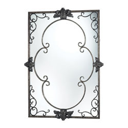 Harrowgate Mirror In Katrina Silver