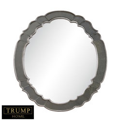 Ordway  In Antique Silver Leaf With Antique And Antique Gold Mirror