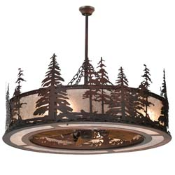 "Meyda Tiffany 44""W Tall Pines Chandel-Air"