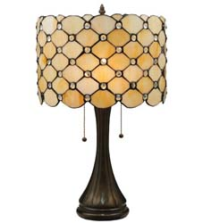 "Meyda Tiffany 21""H Giacomo Table Lamp"
