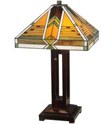 "Meyda Tiffany 24""H Abilene Table Lamp"