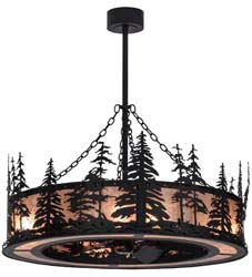 "Meyda Tiffany 45""W Tall Pines Chandel-Air"