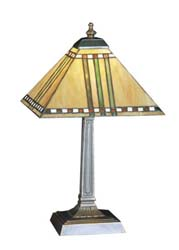 "Meyda Tiffany 16""H Prairie Corn Accent Lamp"
