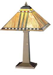 "Meyda Tiffany 19.5""H Prairie Corn Table Lamp"