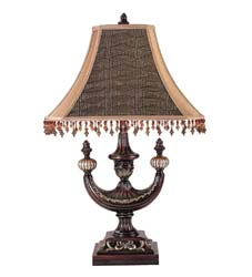 "Meyda Tiffany 29""H Alhambra Oblong Desk Lamp"