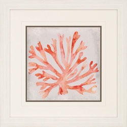 Watercolor Coral III Wall Art