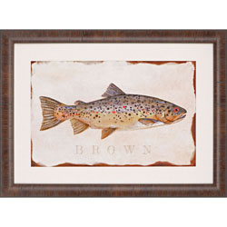 Brown Trout Wall Art