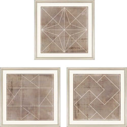 Geometric I Pk/3 Wall Art