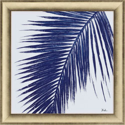 Indigo Baru Palm I Wall Art