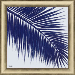 Indigo Baru Palm II Wall Art