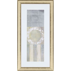 Circle Square Panel II Wall Art