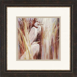 Seaside Egrets Wall Art