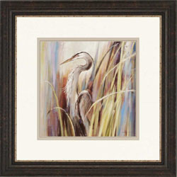 Coastal Heron Wall Art