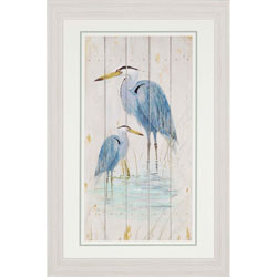 Blue Heron Duo Wall Art
