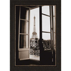 Through French Doors Wall Art