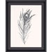 Silver Feather I Wall Art