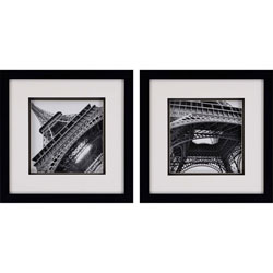 Eiffel Views Pk/2 Wall Art