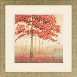 Autumn Trees II Wall Art