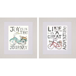 Joy/Life Pk/2 Wall Art
