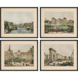 Europe View Pk/4 Wall Art