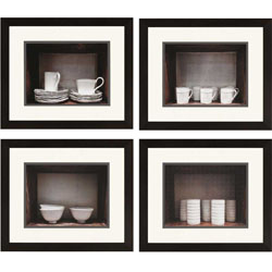 Breakfast Ware Pk/4 Wall Art