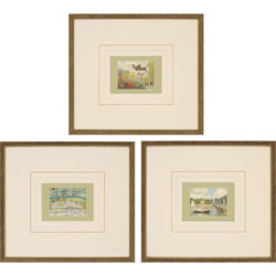 Monet's Gallery Pk/3 Wall Art