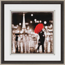 A Paris Kiss Wall Art