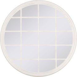 Window Grid Mirror