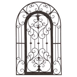 Secret Garden Gate Architectural Decor