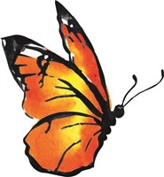 Watercolor Butterfly 1039