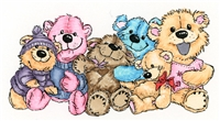 Bunch Of Bears 1045