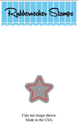 Small Star Die Cut 5100-09D