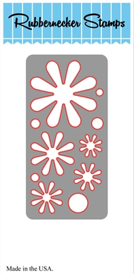 Mixable Flower Stack Die 5106D