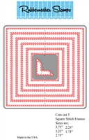 Square Stitch One Piece Combined Die Cut 5121D