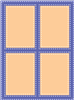 Window w/ Double Stitch 5148-03D