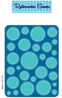 5161D circle Background w/ stitch Die Cut