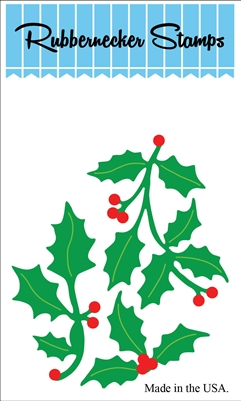 Holly #1 Die Cut 5162-08D