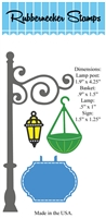 5163D Lamp Post w/ accessories