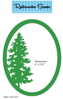 5165D Tree in Oval
