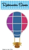 5209-02D Hot Air Balloon Die Cut