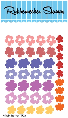 5210-05D Small Flowers #2 Die Cut
