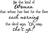 Be the Kind of Woman - 582-10