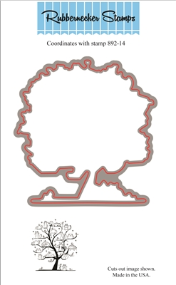 Cat Family Tree Die Cut 892-14D