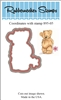 Teddy Bear Die Cut 895-05D