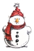 Snowman with Arms 963-01
