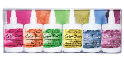 Ken Oliver Color Burst 6 Pack Set Fresh Florals