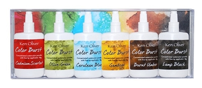 Ken Oliver Color Burst 6 Pack Set Rich Moroccan Shades