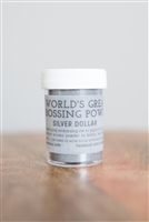 Silver Dollar Embossing Powder