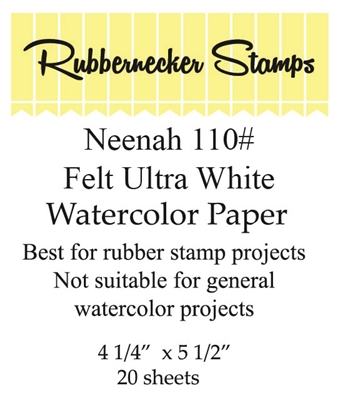 Rubbernecker Water Color Paper